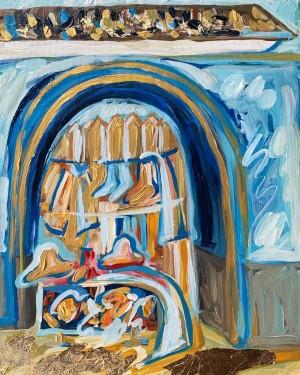 'Blue village'